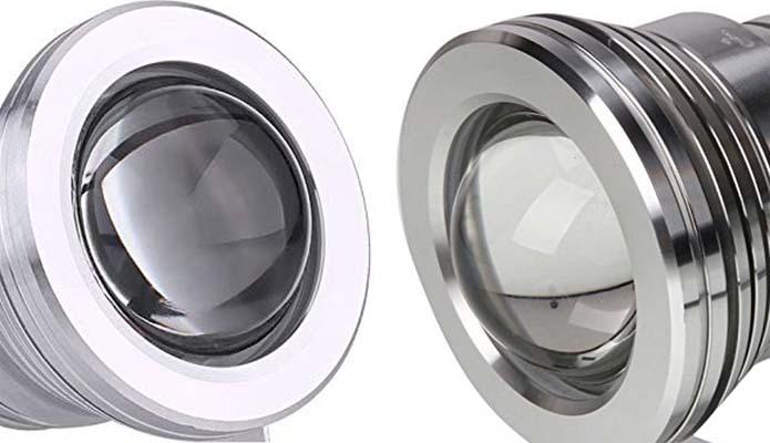 Elettrodata vetro lenticolare convesso per lampade elettrodata